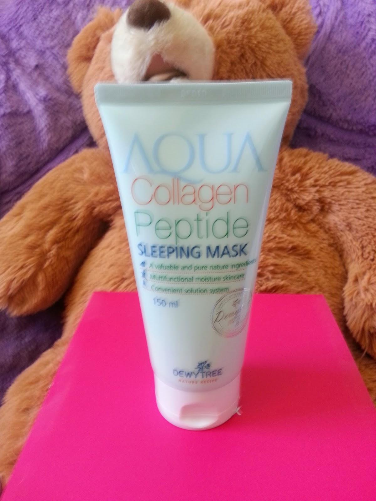 Dewytree Aqua Collagen Peptide Sleep Mask