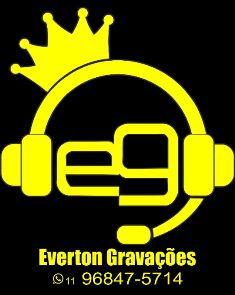 #EvertonGravações