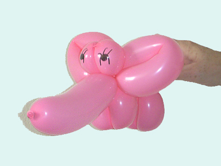 Слон из шарика