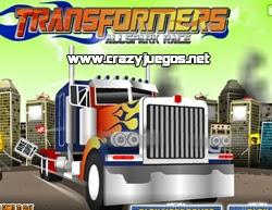 Jugar Transformer All Spark Race