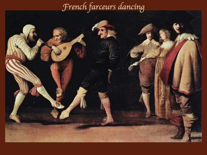 The history of theatre according to dr jack the theatre for Farcical in french