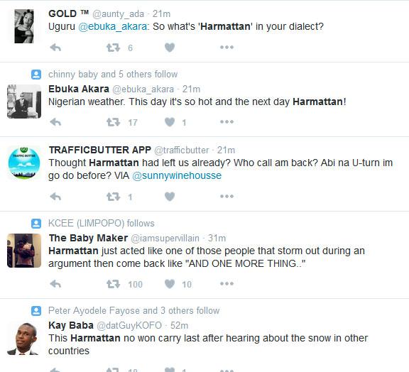 Did Y'all NGLatest Readers Notice Harmattan Is Back?