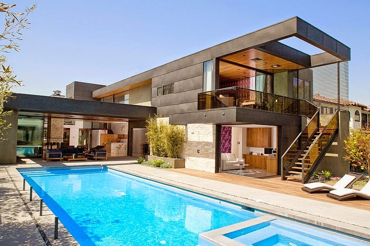 Casa riggs place by soler architecture los ngeles for Casas modernas los angeles