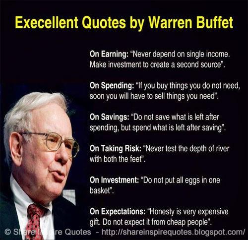 warren buffet charismatic leader