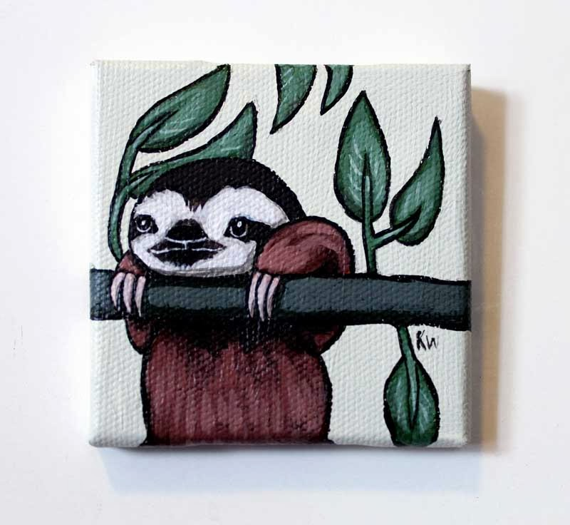 https://www.etsy.com/listing/171698902/sloth-tiny-painting-original-wall-art?ref=shop_home_active
