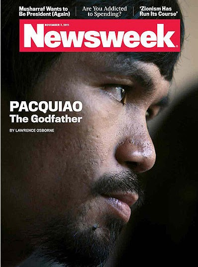 Turtz on the go manny pacquiao graces newsweek cover on the first
