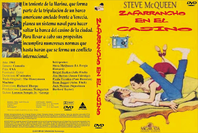 Cover, carátula, dvd: Zafarrancho en el casino | 1961 | The Honeymoon Machine