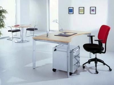 desain kantor minimalis modern 1