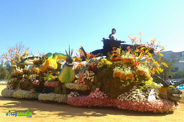 Panagbenga Flower Festival 2015 - Grand Float Parade picture 4