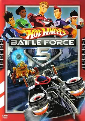 Hot Wheels Battle Force 5 Dublado