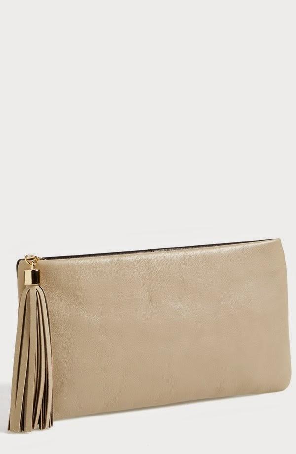 http://shop.nordstrom.com/s/halogen-tassel-leather-clutch/3827454?origin=category-personalizedsort&contextualcategoryid=0&fashionColor=TAUPE%2F+BLACK&resultback=7556