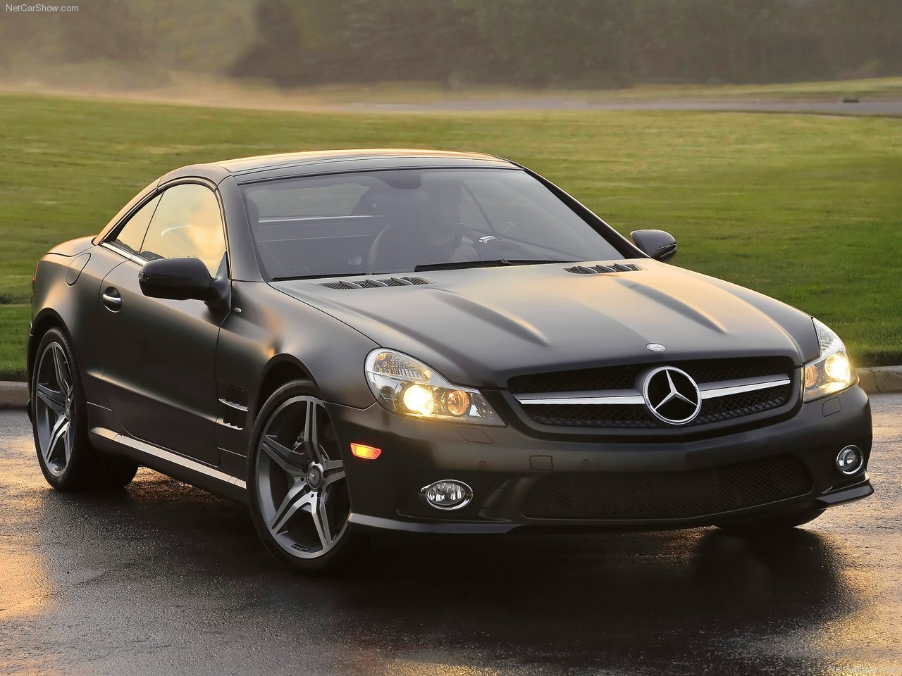 2011 mercedes benz sl550 night edition mercedes benz cars for Mercedes benz lease seattle