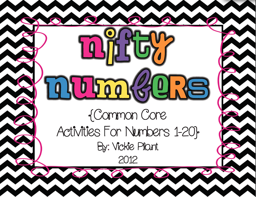 http://www.teacherspayteachers.com/Product/Nifty-Numbers-Common-Core-Activities-for-Numbers-1-20-285546