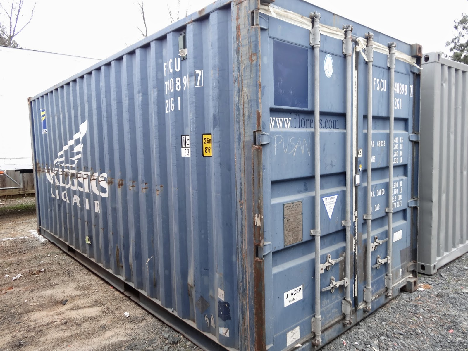 How To Refurbish A Used Shipping Container For Storage