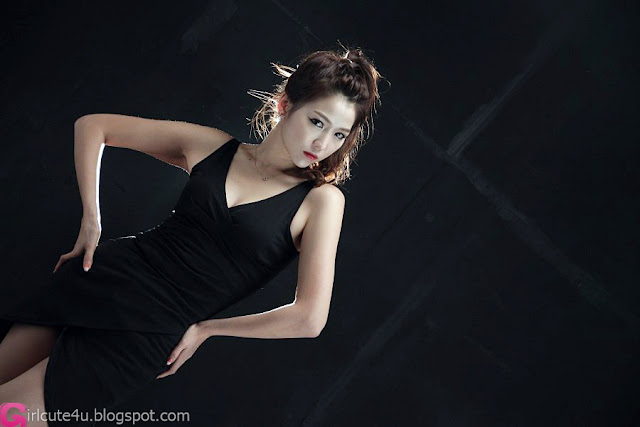 1 Wow - Lee Eun Hye in Black-very cute asian girl-girlcute4u.blogspot.com
