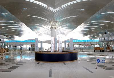 Foto Interior Bandara Kuala Namu Medan