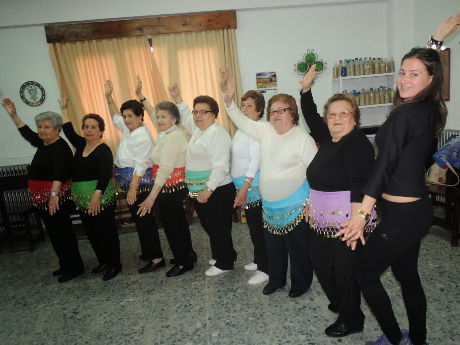 Danza del vientre. Centro de participación Activa de Olvera
