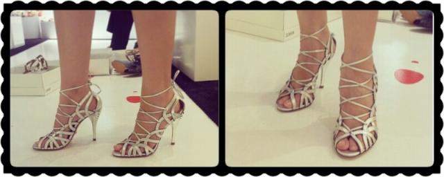 moda estilo corte costura sapato sandália gladiador
