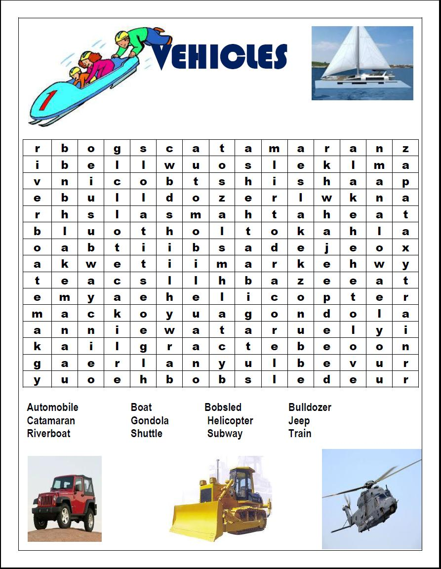 games word search games