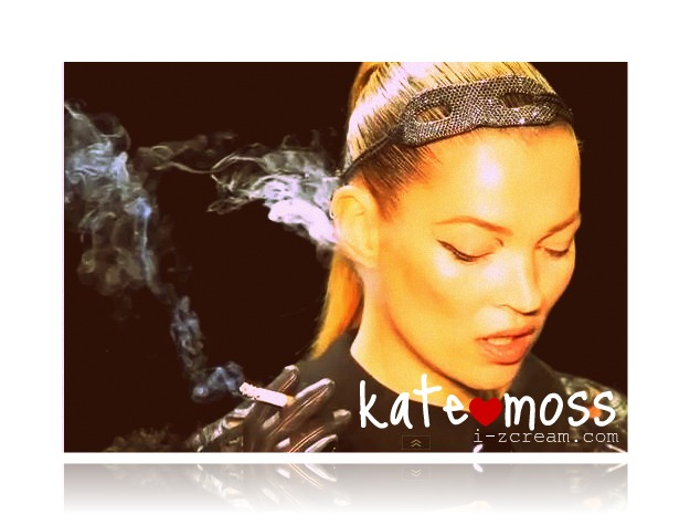 kate moss smoking. Supermodel Kate Moss return to