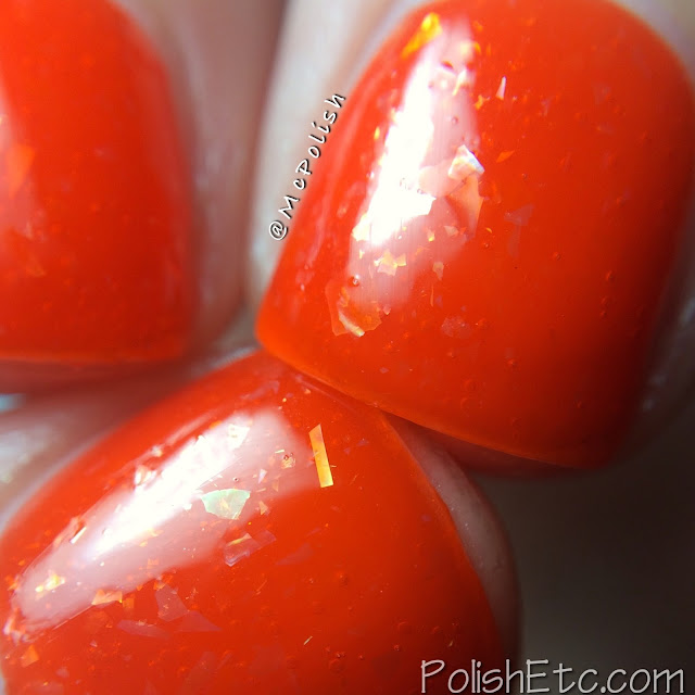 Loaded Lacquer - The Z Collection - McPolish - Orange-flesh