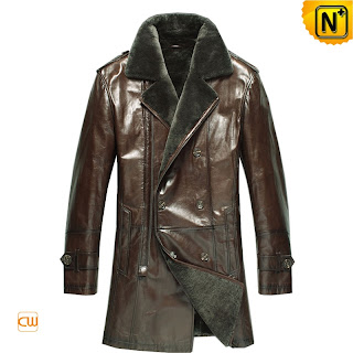 fur leather coat