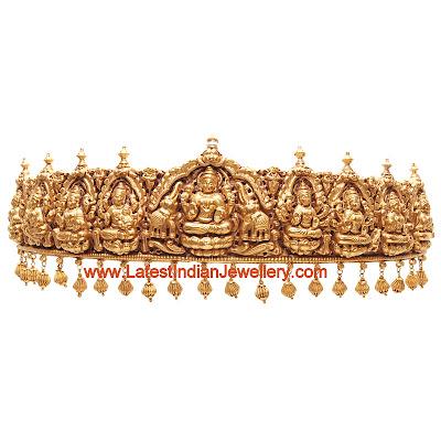 Gold Ashta Lakshmi Vaddanam