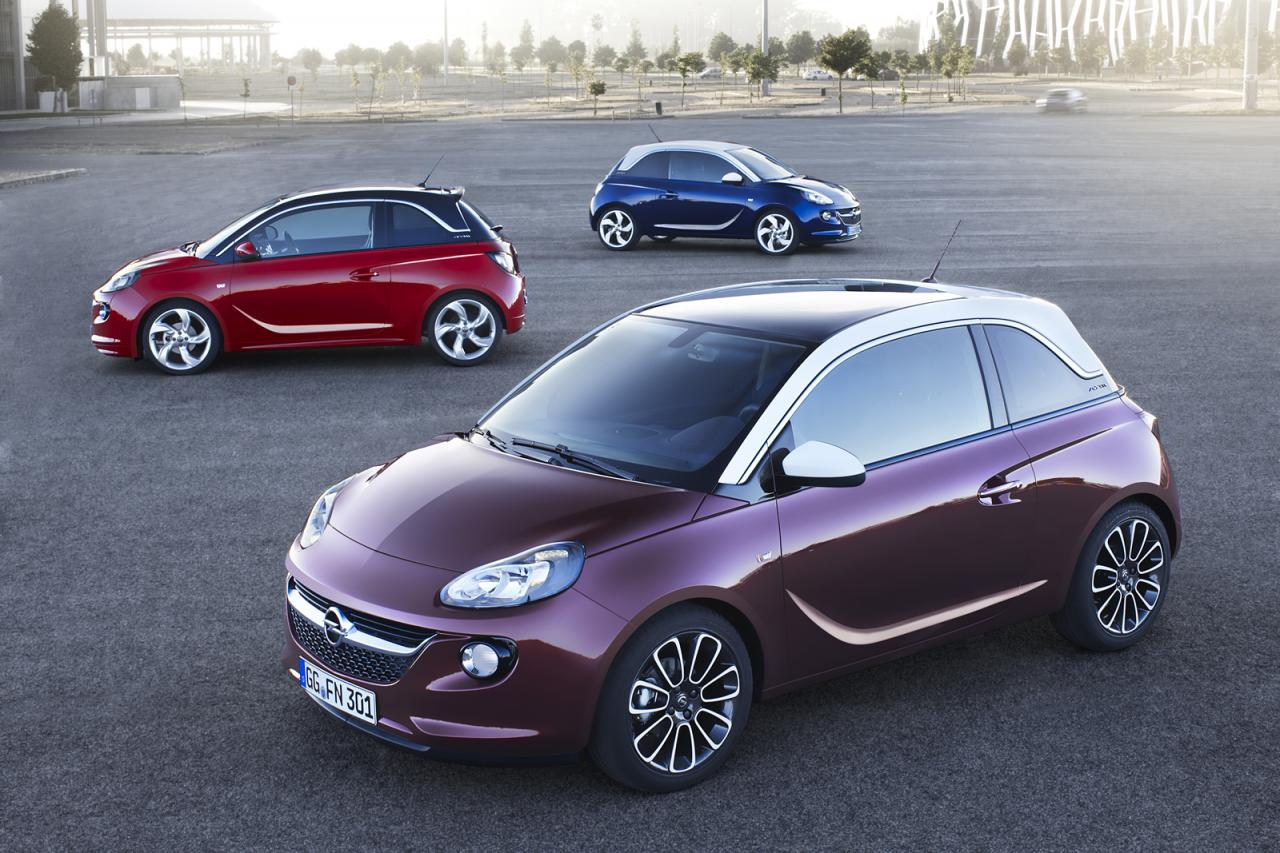Opel vauxhall adam is here