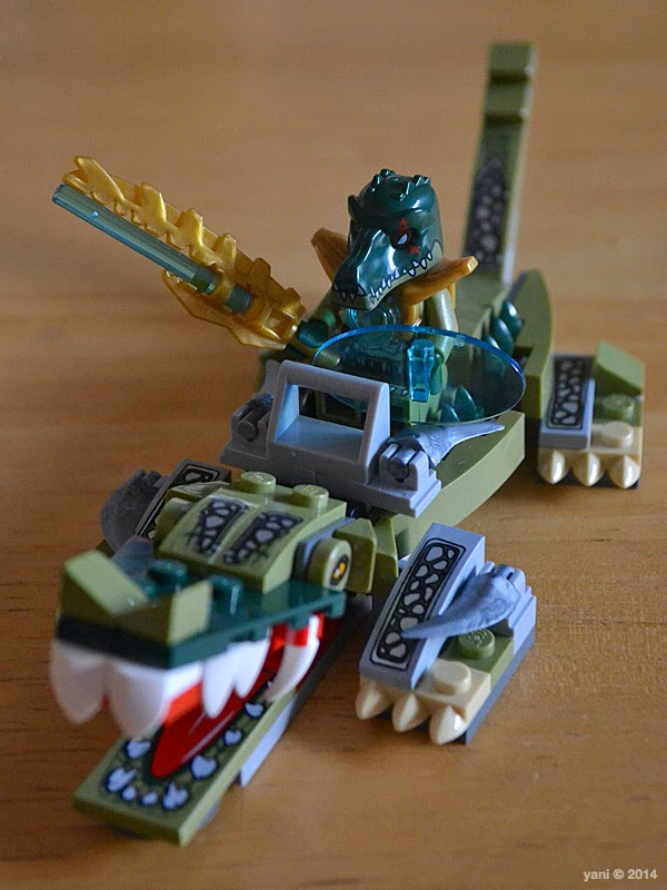 lego chima legend beast crocodile - cragger and the beast