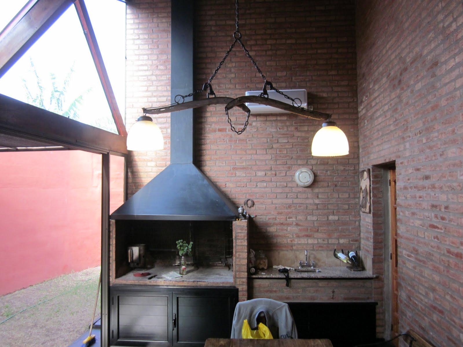 Espejos y lamparas l mparas campestres muy r sticas - Lamparas para cocinas rusticas ...