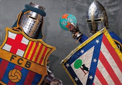 برشلونه ضد اتلتيكو مدريد
