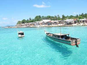 Mengkait Island Anambas