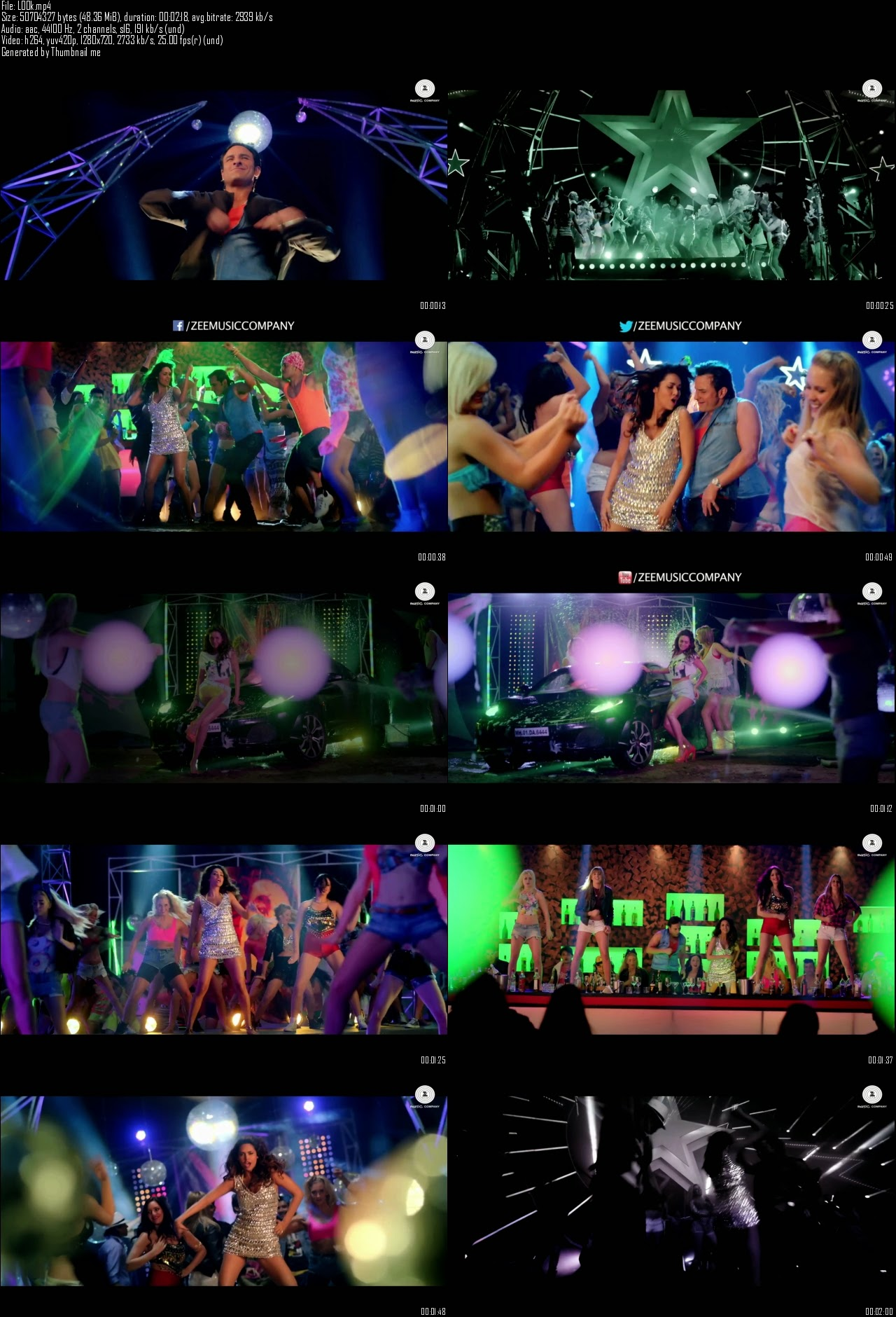 Look Into My Eyes - Humshakals (2014) Video Song 720P HD ...