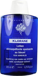 démaquillant klorane au bleuet pour yeux sensibles