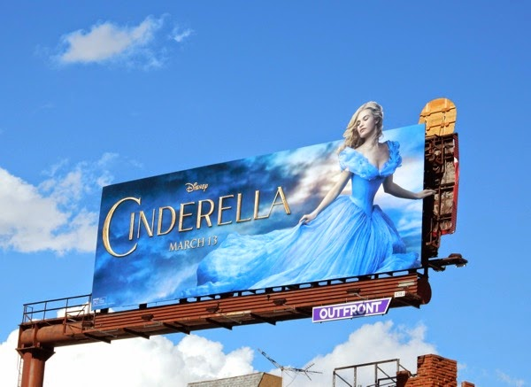 Cinderella special extension billboard