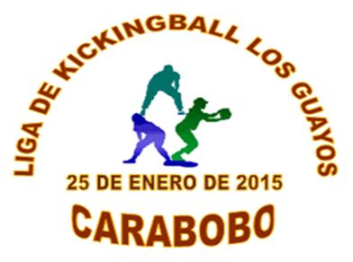 LOGO  LIGA DE KICKINGBALL LOS GUAYOS