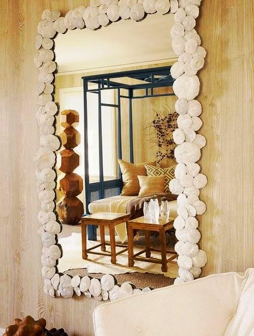 Decoração de sala com espelho 18