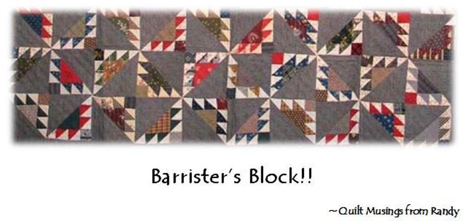 Barrister&#39;s Block
