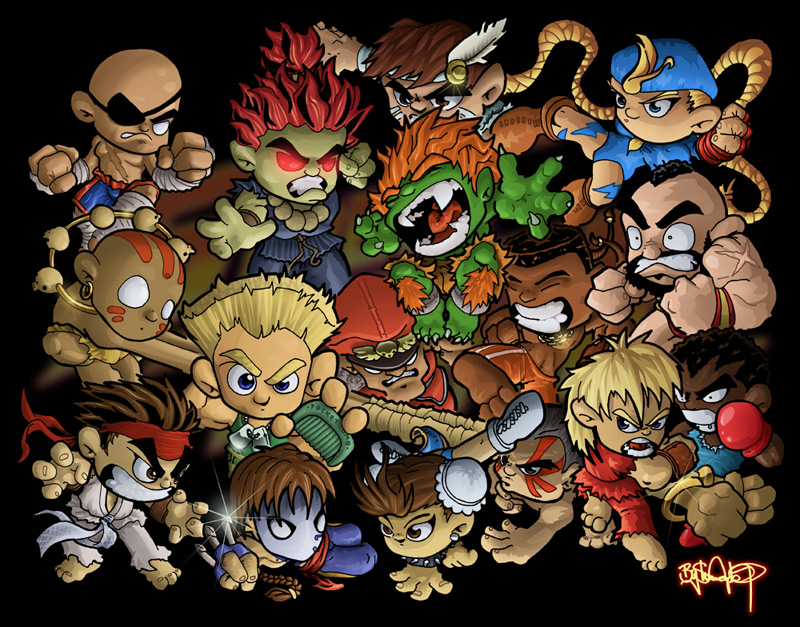 Game art 28 street fighter gallery