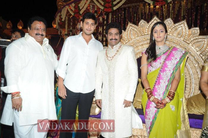 mahesh babu jr ntr marriage wedding photo wallpaper