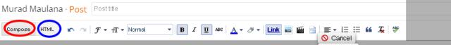 Compose / HTML