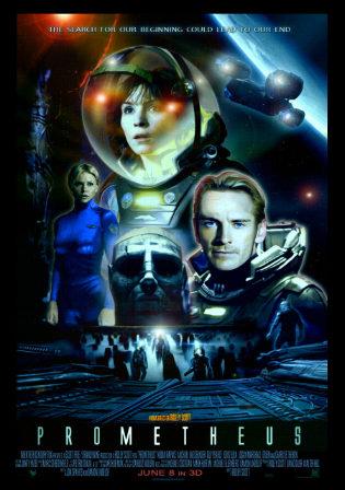 Free Download Prometheus (2012)  Dual Audio 720p Hindi English
