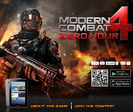 Contest: Win Samsung Galaxy Tab 2.0 from Gameloft