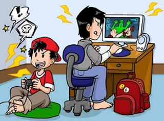 Fokus A melengkapkan pelajar dengan permainan online (Online games)