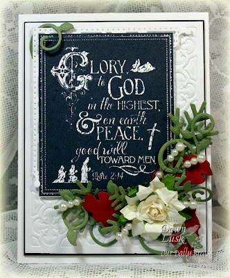 Stamps - Our Daily Bread Designs Glory to God, ODBD Custom Fancy Foliage Die