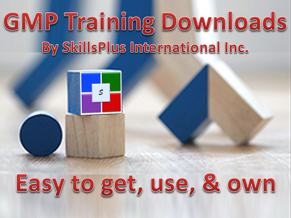 GMP Training Downloads