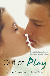 book cover of Out of Play by Nyrae Dawn and Jolene Perry