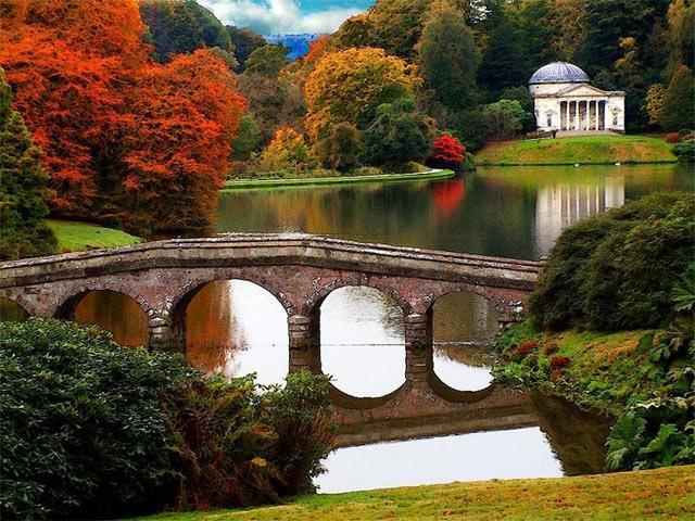 Mirando al mundo con sentimientos: Los Jardines Stourhead en Inglaterra