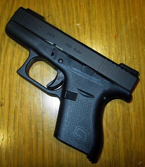 Glock mod 42 .380 ACP