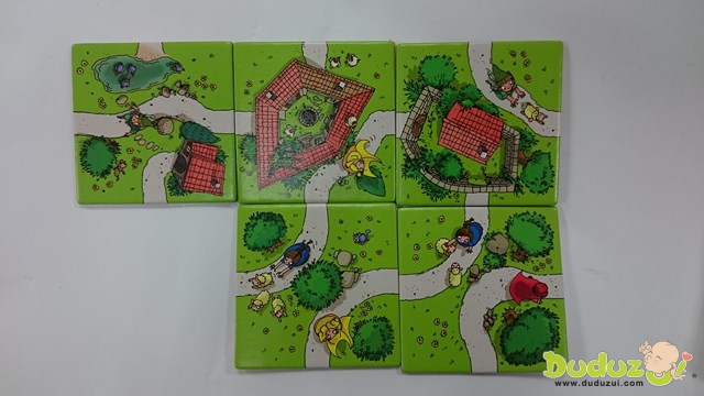 Carcassonne The Kids 卡卡頌兒童版